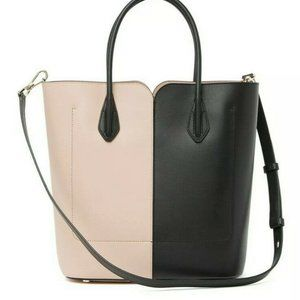 New Kate Spade Nicola Bicolor Two Tone Large Tote